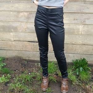 NWT H&M | shiny super stretch skinny pants